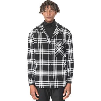 Textil Muži Košile s dlouhymi rukávy Antony Morato MMSL00555 FA410113 Černá