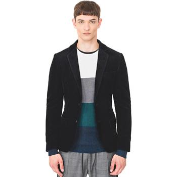 Textil Muži Saka / Blejzry Antony Morato MMJA00406 FA300011 Modrý