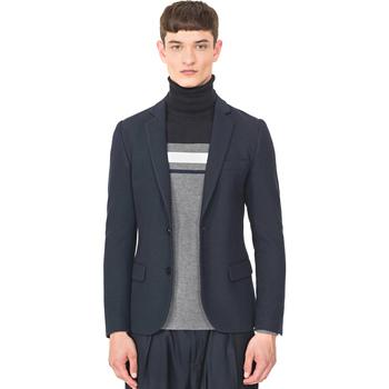 Textil Muži Saka / Blejzry Antony Morato MMJA00407 FA100130 Modrý