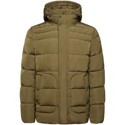Textil Muži Prošívané bundy Geox M9428C T2506 Zelený
