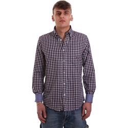 Textil Muži Košile s dlouhymi rukávy Navigare NV91074 BD Červené