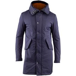 Textil Muži Parky Lumberjack CM37821 003 505 Modrý