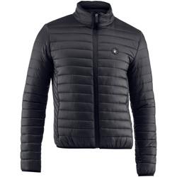 Textil Muži Prošívané bundy Lumberjack CM37822 005 407 Černá