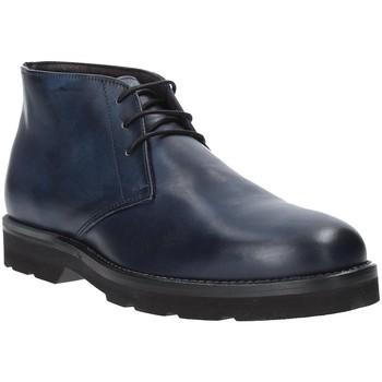 Boty Muži Kotníkové boty Exton 44 Modrý