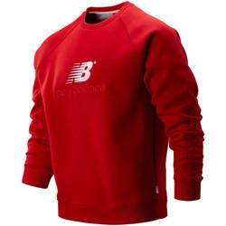 Textil Muži Mikiny New Balance NBMT93575REP Červené