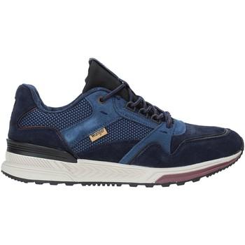 Boty Muži Nízké tenisky Wrangler WM92200A Modrý