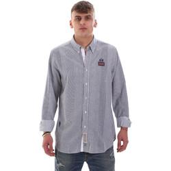 Textil Muži Košile s dlouhymi rukávy La Martina OMC021 PP472 Bílý
