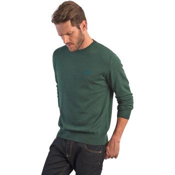 Textil Muži Svetry La Martina OMS005 YW020 Zelený