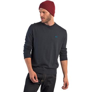 Textil Muži Svetry La Martina OMS005 YW020 Modrý