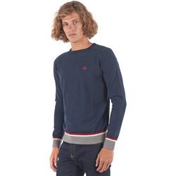 Textil Muži Svetry La Martina OMS021 YW025 Modrý