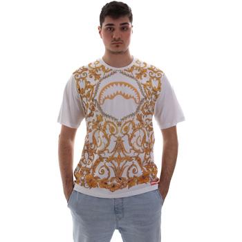 Textil Muži Trička s krátkým rukávem Sprayground SP019S Bílý
