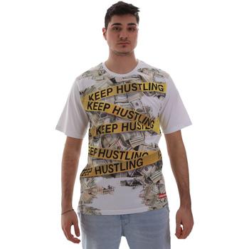 Textil Muži Trička s krátkým rukávem Sprayground SP017S Bílý