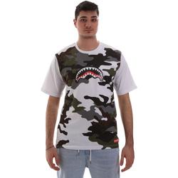 Textil Muži Trička s krátkým rukávem Sprayground SP023S Bílý