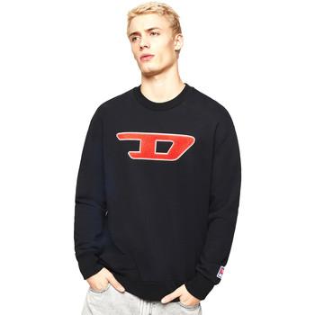 Textil Muži Mikiny Diesel 00SY7B 0IAJH Černá