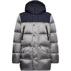 Textil Muži Prošívané bundy Geox M9425K TC129 Stříbrný