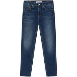 Textil Ženy Rifle skinny Calvin Klein Jeans J20J211886 Modrý