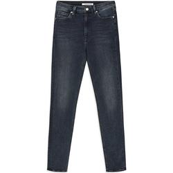 Textil Ženy Rifle slim Calvin Klein Jeans J20J212018 Modrý