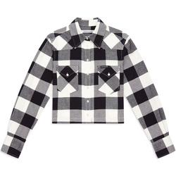 Textil Ženy Košile / Halenky Calvin Klein Jeans J20J212123 Černá