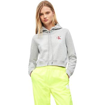 Textil Ženy Mikiny Calvin Klein Jeans J20J210601 Šedá