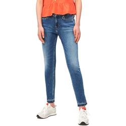 Textil Ženy Rifle slim Calvin Klein Jeans J20J211434 Modrý
