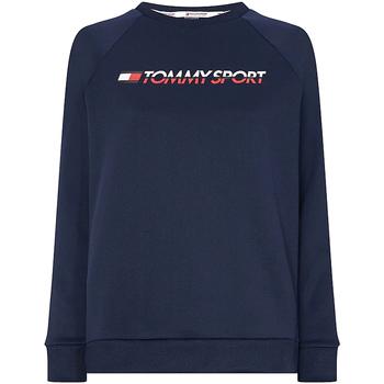 Textil Ženy Mikiny Tommy Hilfiger S10S100358 Modrý