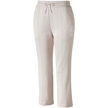 Textil Ženy Teplákové kalhoty Puma 595522 Růžový