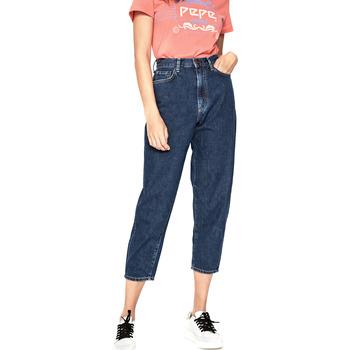 Textil Ženy Rifle 3/4 & 7/8 Pepe jeans PL203420R Modrý