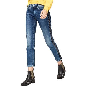 Textil Ženy Rifle Pepe jeans PL203548R Modrý