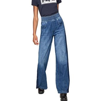 Textil Ženy Rifle bootcut Pepe jeans PL203566R Modrý