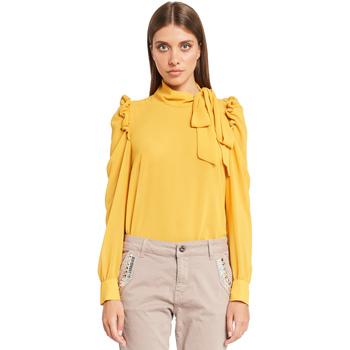 Textil Ženy Halenky / Blůzy Denny Rose 921ND45001 Žlutá