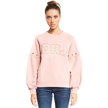 Textil Ženy Mikiny Denny Rose 921ND64018 Růžový