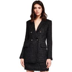 Textil Ženy Saka / Blejzry Gaudi 921FD35029 Černá