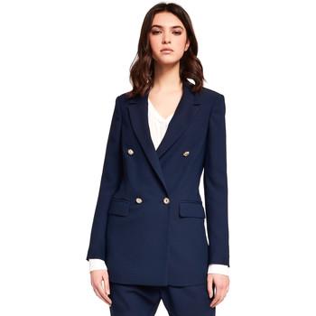 Textil Ženy Saka / Blejzry Gaudi 921FD35035 Modrý