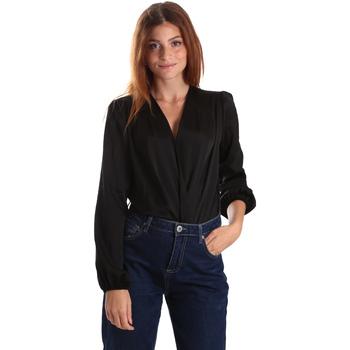 Textil Ženy Košile / Halenky Gaudi 921FD45011 Černá