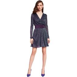 Textil Ženy Krátké šaty Gaudi 921FD14003 Modrý