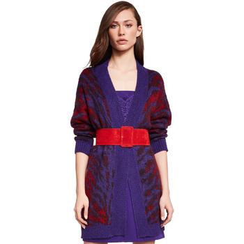 Textil Ženy Svetry / Svetry se zapínáním Gaudi 921FD53048 Fialový