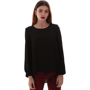 Textil Ženy Košile / Halenky Gaudi 921BD45023 Černá