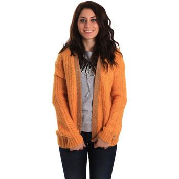 Textil Ženy Svetry / Svetry se zapínáním Gaudi 921BD53041 Žlutá