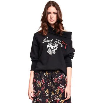 Textil Ženy Mikiny Gaudi 921BD64030 Černá