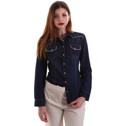 Textil Ženy Košile / Halenky Gaudi 921BD46001 Modrý