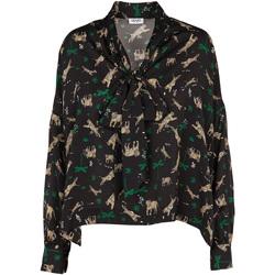 Textil Ženy Halenky / Blůzy Liu Jo W69040 T4031 Černá