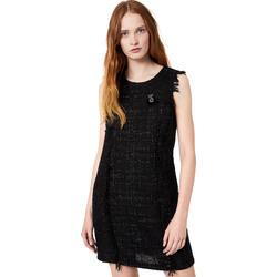Textil Ženy Krátké šaty Liu Jo W69330 T4080 Černá