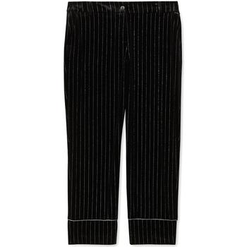 Textil Ženy Oblekové kalhoty Liu Jo F69250 T4097 Černá