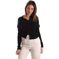 Textil Ženy Svetry / Svetry se zapínáním Fracomina FR19FMMARIELLA Černá