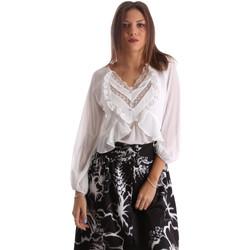 Textil Ženy Košile / Halenky Fracomina FR19FMFLORRIE Bílý