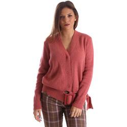 Textil Ženy Svetry / Svetry se zapínáním Fracomina FR19FMLILITH Růžový