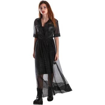 Textil Ženy Společenské šaty Fracomina FR19FM567 Černá