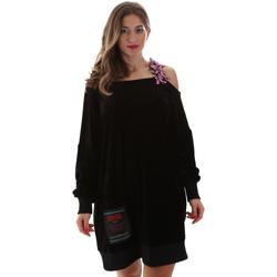 Textil Ženy Krátké šaty Versace B6HUB77011684899 Černá