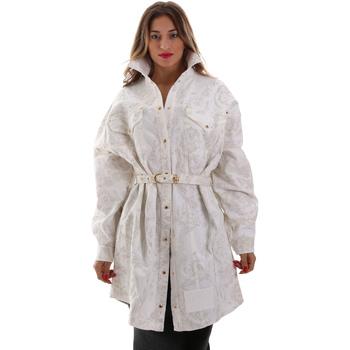Textil Ženy Bundy Versace D2HUB445HRC43003 Bílý