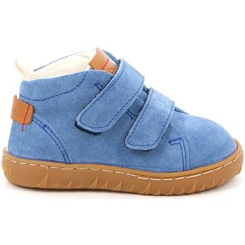 Boty Děti Kotníkové boty Grunland PP0272 Modrý